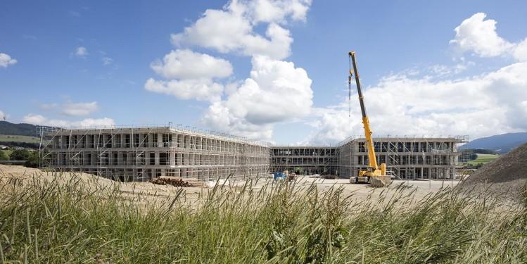 MCM architectes Lausanne. Ecole de Riaz, Fribourg, 13 07 17