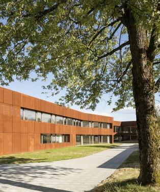 MCM architectes Lausanne. Cheseaux, fondation Vernand, 04 07 17