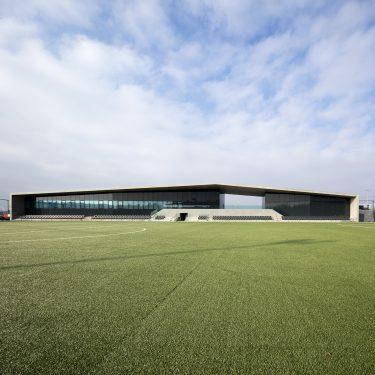 MCM Lausanne. Centre de football, la Tuilière, Lausanne 28 02 2018